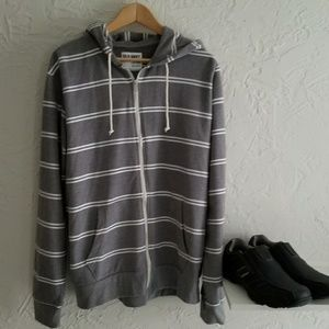 Men's Old Navy Fleeced Zip-Up Hoodie